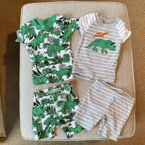 Baby boy pjs-worn once!